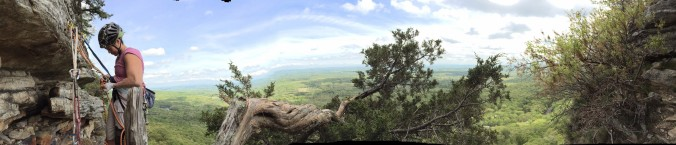 Cool panorama. And, no, my biceps are not that big (or flabby).