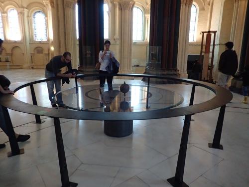Foucalt's ACTUAL pendulum!!