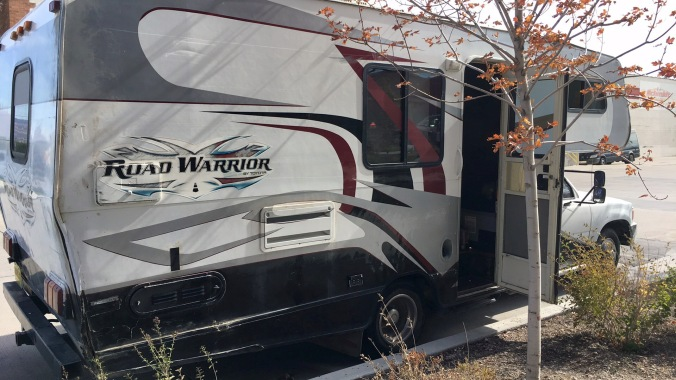 Two climber chicks in this RV