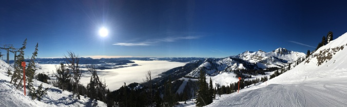 Extreme temperature inversion today