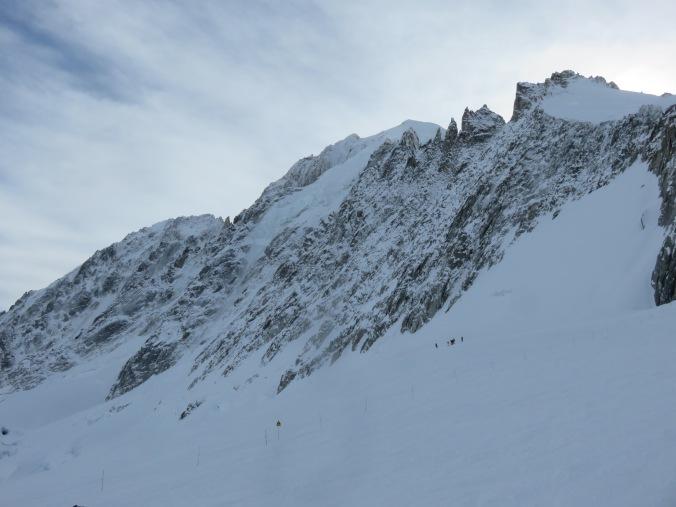 Aig d'Verte Grand Montets ridge
