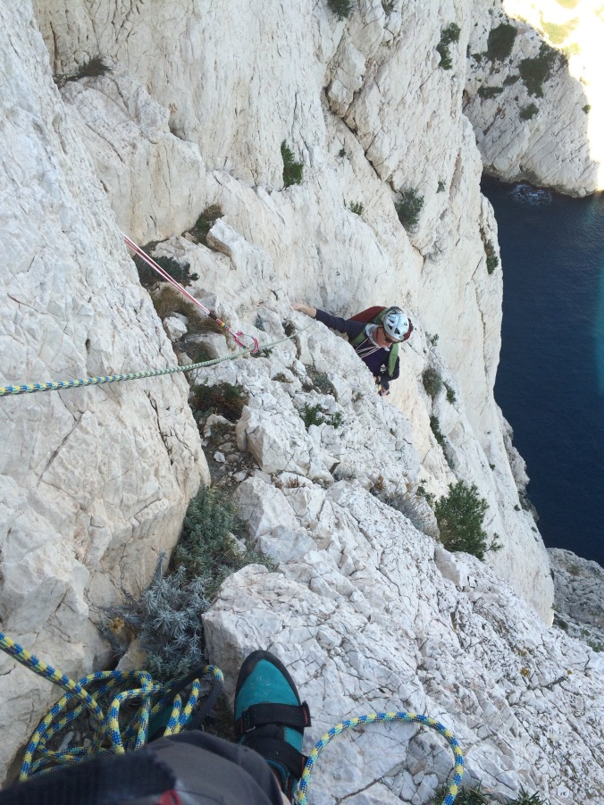 Yves on the last pitch